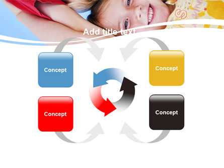Kids Smiling Faces PowerPoint Template Slide 6