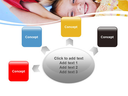 Kids Smiling Faces PowerPoint Template Slide 7
