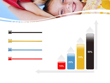 Kids Smiling Faces PowerPoint Template Slide 8