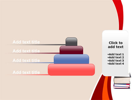 Book Knowledge PowerPoint Template Slide 8