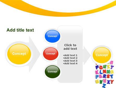 Childish Alphabet PowerPoint Template Slide 17