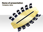 Business: Conference Table PowerPoint Template #06358