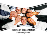 Business: Co-workers PowerPoint Template #06359