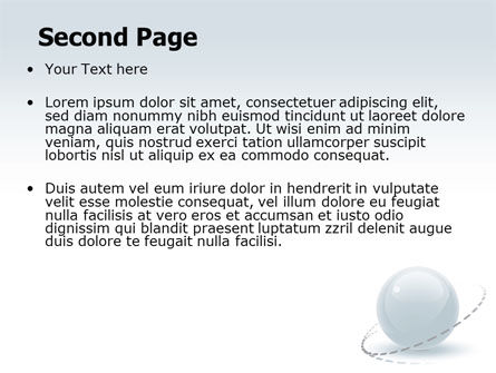 Clean Sphere PowerPoint Template Slide 2
