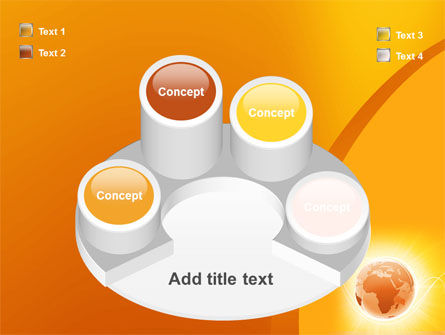 Yellow Earth Theme PowerPoint Template Slide 12