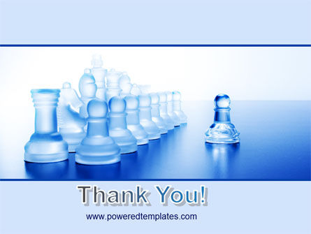 Glass Chess PowerPoint Template Slide 20