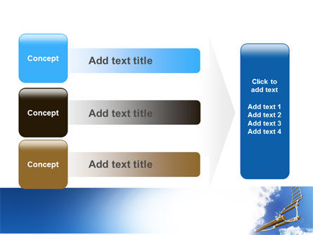 Rope Ladder PowerPoint Template Slide 12
