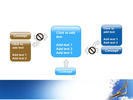 Rope Ladder PowerPoint Template Slide 13