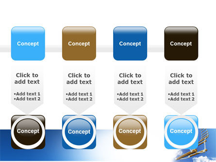 Rope Ladder PowerPoint Template Slide 18