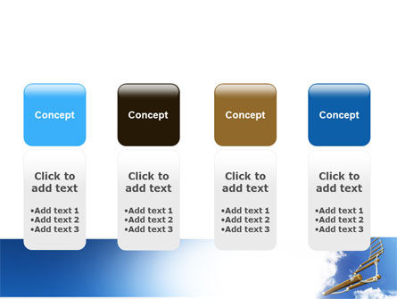 Rope Ladder PowerPoint Template Slide 5
