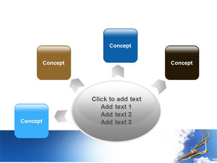 Rope Ladder PowerPoint Template Slide 7