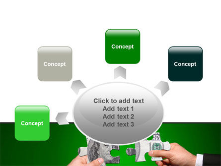 Money Puzzles PowerPoint Template Slide 7