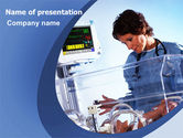 Medical: Special Care Nursery PowerPoint Template #06368