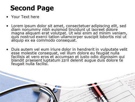 Medical Record For Analysis PowerPoint Template Slide 2