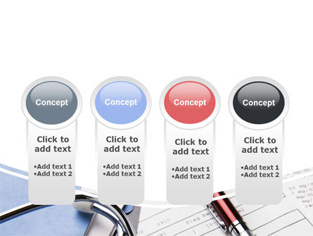 Medical Record For Analysis PowerPoint Template Slide 5