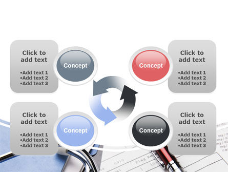 Medical Record For Analysis PowerPoint Template Slide 9