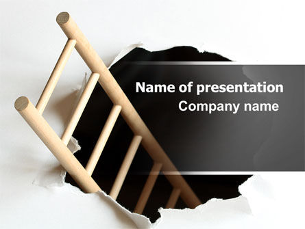 Escape PowerPoint Template, 06370, Careers/Industry — PoweredTemplate.com