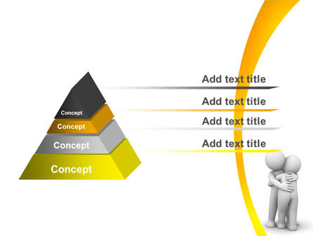Hugging PowerPoint Template Slide 4
