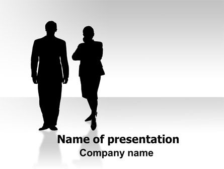 Sexism PowerPoint Template, 06373, Business — PoweredTemplate.com