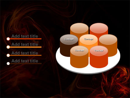Red Smoke PowerPoint Template Slide 12