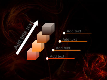 Red Smoke PowerPoint Template Slide 14