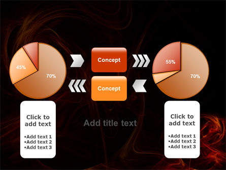 Red Smoke PowerPoint Template Slide 16