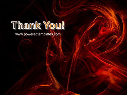 Red Smoke PowerPoint Template Slide 20