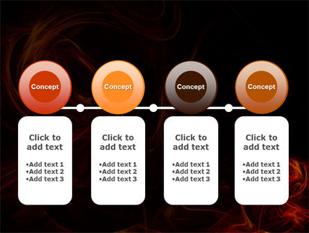 Red Smoke PowerPoint Template Slide 5