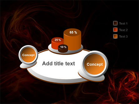 Red Smoke PowerPoint Template Slide 6