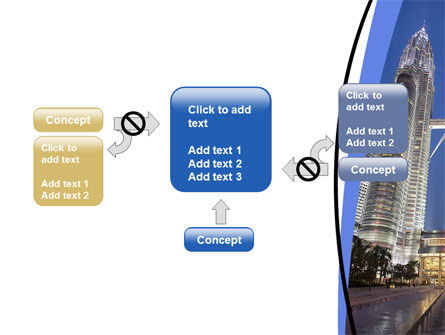 Petronas Twin Towers PowerPoint Template Slide 13