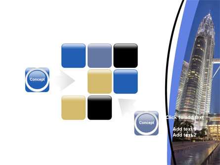 Petronas Twin Towers PowerPoint Template Slide 16