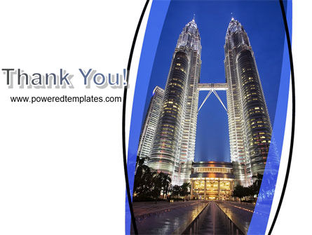 Petronas Twin Towers PowerPoint Template Slide 20