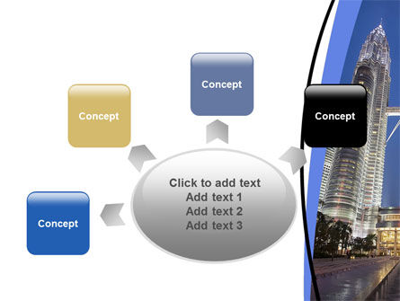 Petronas Twin Towers PowerPoint Template Slide 7
