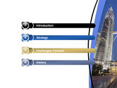 Petronas Twin Towers PowerPoint Template#3