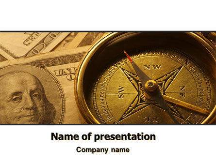 Money Compass PowerPoint Template