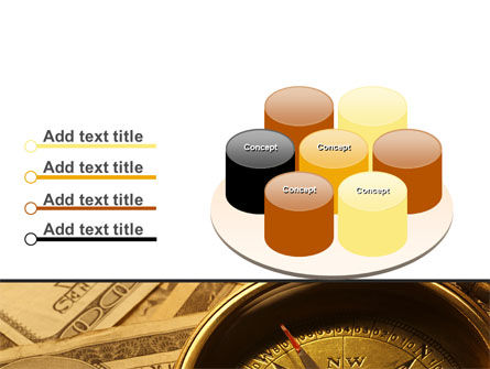 Money Compass PowerPoint Template Slide 12