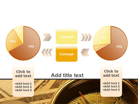 Money Compass PowerPoint Template Slide 16
