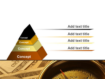 Money Compass PowerPoint Template Slide 4