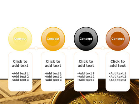 Money Compass PowerPoint Template Slide 5