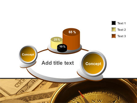 Money Compass PowerPoint Template Slide 6