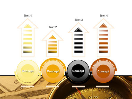 Money Compass PowerPoint Template Slide 7