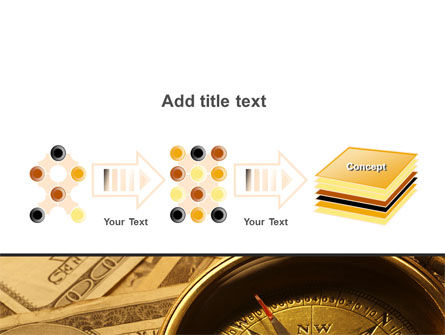 Money Compass PowerPoint Template Slide 9