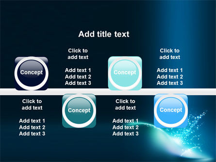 Blue Splashes PowerPoint Template Slide 19
