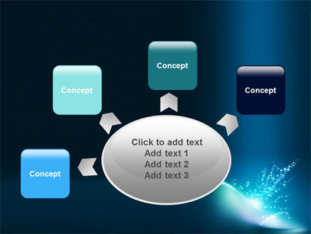 Blue Splashes PowerPoint Template Slide 7