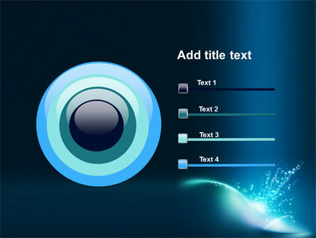 Blue Splashes PowerPoint Template Slide 9