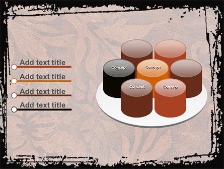Carpet Ornament PowerPoint Template Slide 12