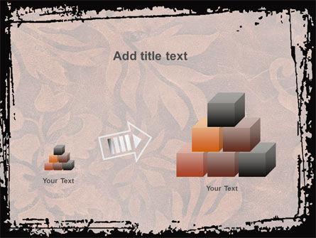 Carpet Ornament PowerPoint Template Slide 13