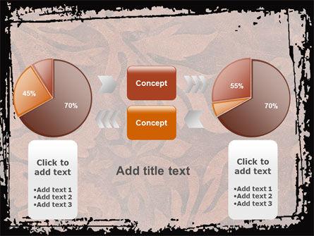 Carpet Ornament PowerPoint Template Slide 16