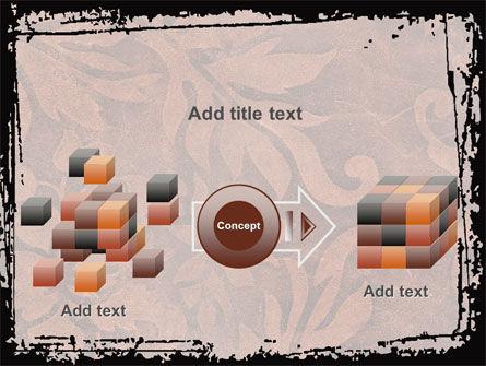 Carpet Ornament PowerPoint Template Slide 17