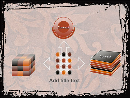 Carpet Ornament PowerPoint Template Slide 19